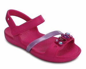 CROCS-LINA-SANDAL-K-scarpe-bambina-infraditi-sandali-ciabatte-mare-fuxia