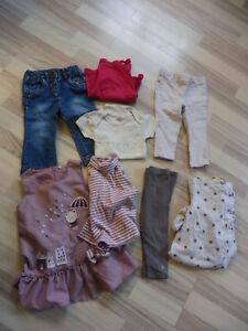 Etc... Jean Haut Body Lovely Lot 12 Vetements Fille 18 Mois : Pyjama Ensemble
