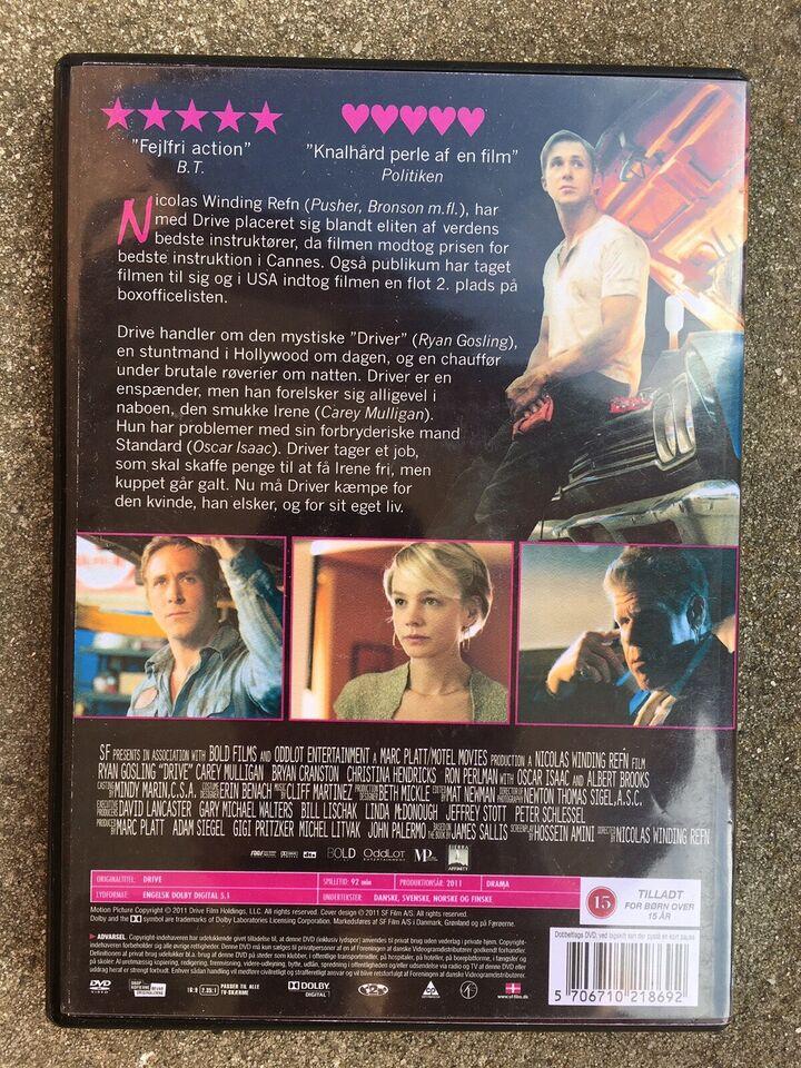 Drive, DVD, drama