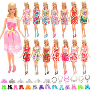 Barwa-Barbie-10-Random-Skirt-10-Random-Shoes-6-Random-Crown-6-Necklace