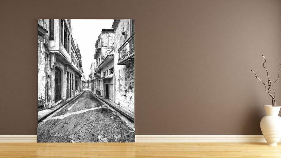 3D Shabby alley 1A Paper Murals Wall Print Decal Wall Deco AJ WALLPAPER