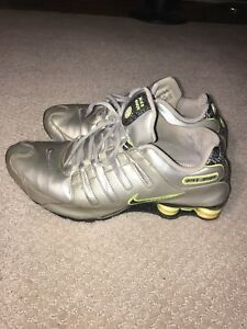 Image is loading Nike-Shox-Mens-Size-11-Running-Athletic-Shoes 25b431e78