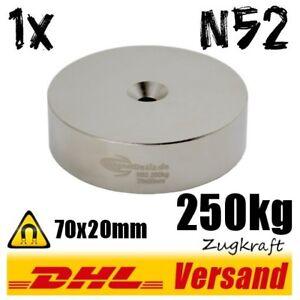 Neodym-Magnet-70x20mm-mit-Loch-250kg-Zugkraft-Industriemagnet-Hightechmagnet