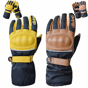 New-Mens-Cordura-Motorcycle-Leather-Gloves-Full-Finger-Waterproof-Racing-Bikers
