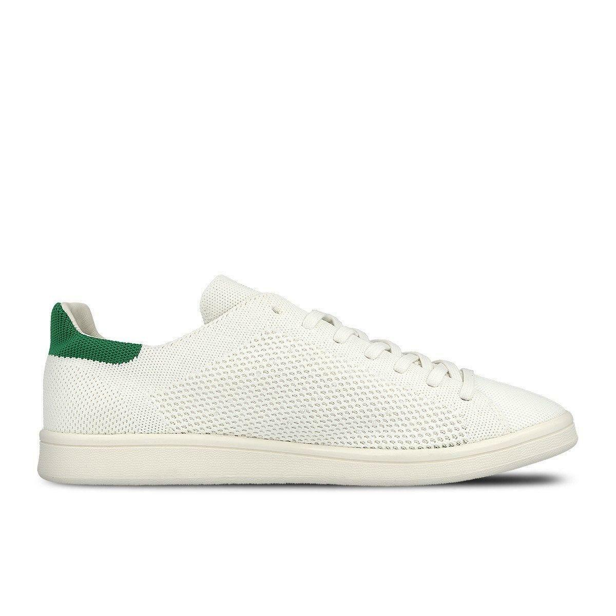 Herren Adidas Stan Smith OG Packung weiß grün Turnschuhe Freizeit S75146