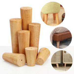 1-4pcs-Wooden-Furniture-Legs-Feet-Angled-Straight-For-Sofa-Table-Chair-Footstool
