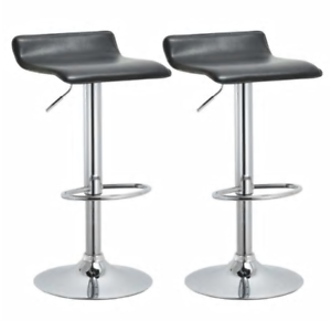Incredible Details About Modern Adjustable Bar Stools Set Of 2 Pub Kitchen Office Table Island Seats Machost Co Dining Chair Design Ideas Machostcouk