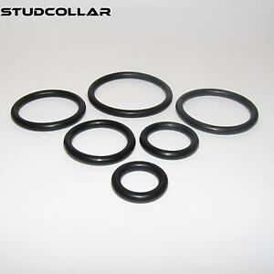 Six Super Strong As Steel Rubber Penis Rings Moderate Price Sexual Wellness Other Sexual Wellness Studcollar-nitrile-singles