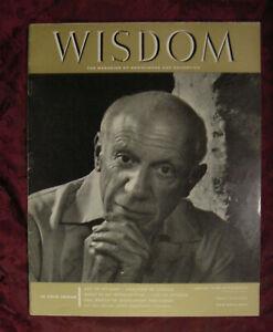 WISDOM-May-1958-Pablo-Picasso-George-Santayana-Antonin-Dvorak-Russell-Kirk