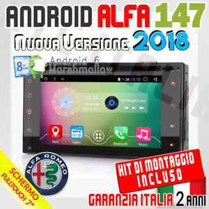 Autoradio 7 Android 6 0 Full Touch Alfa Romeo 147 Mp3 Bluetooth