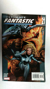 ULTIMATE-FANTASTIC-FOUR-21-1st-Printing-Marvel-Zombies-2005-Marvel-Comics