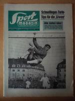 SPORT MAGAZIN KICKER 15 A - 5.4. 1965 ** 1860-Köln 2:3 Kaiserslautern-Hertha 1:2