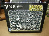 Zebras Zooming Jigsaw Puzzle Joe Picarella 2005 Fx Schmid Butterfly Og