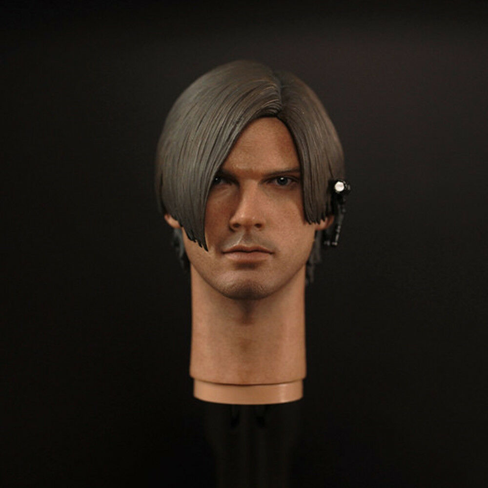 1 6 Scale Leon·Scott·Kennedy Head Sculpt Resident Evil For 12'' Action Figures