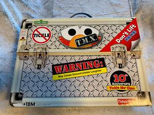 TMX TICKLE ME ELMO DOLL 10th Anniversay 2006 Brand New /& Sealed in box