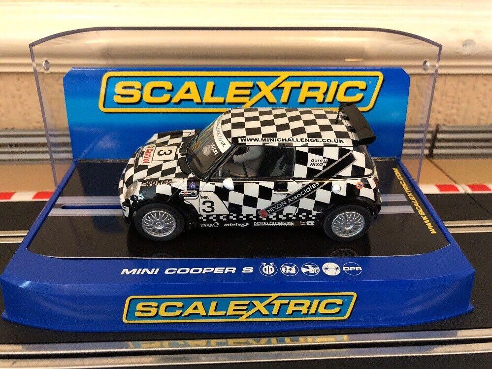 Scalextric Mini Cooper Nixon Associates No3 C2911 Excellent Boxed