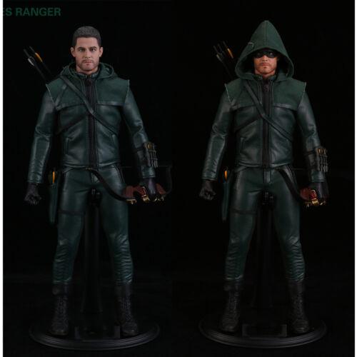 THREEQ 1//6 superhero Green Arrow Figure CITIES RANGER TQ1001 Toy