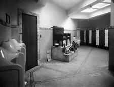 Photo. 1917. Men's Restroom / Bathroom - Shine Station