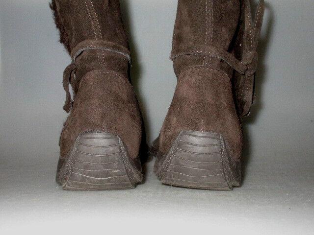 ESPRIT J10301 Wildleder Damen Stiefel einmal Winter Stiefel braun Gr.39 einmal Stiefel getragen 6ac02e