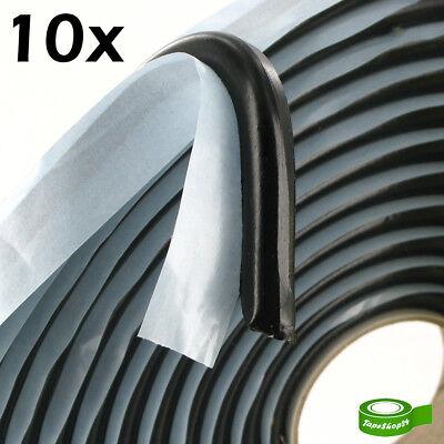 Hilfreich 10x Butylschnur Butylband Dichtband Butylrundschnur Ø8mm X 6m Schwarz (1,23€/m)