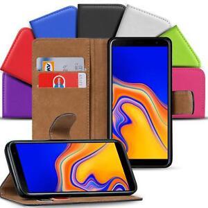 Samsung-Galaxy-J4-Plus-Handy-Klapp-Tasche-Schutz-Huelle-Book-Flip-Cover-Case-Etui