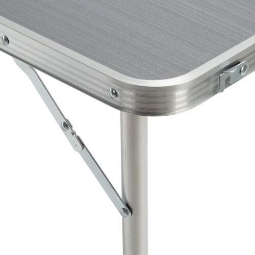 Klapptisch Campingtisch Alu klappbar Gartentisch Tisch faltbar 120x60cm Camping