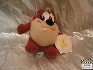 LOONEY TUNES~1997 Applause~Bean Bag Doll~Taz Tasmanian Devil~Cartoon Toy~NEW NOS
