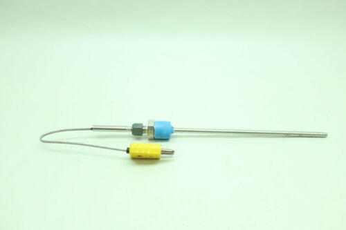 Thermo Type K Thermocouple 9in X 1//4in