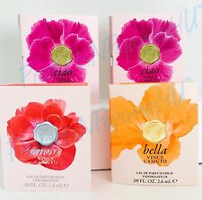 LOT of  4~Vince Camuto CIAO x 2~BELLA~AMORE~Eau de Parfum .09oz/2.6ml SAMPLES