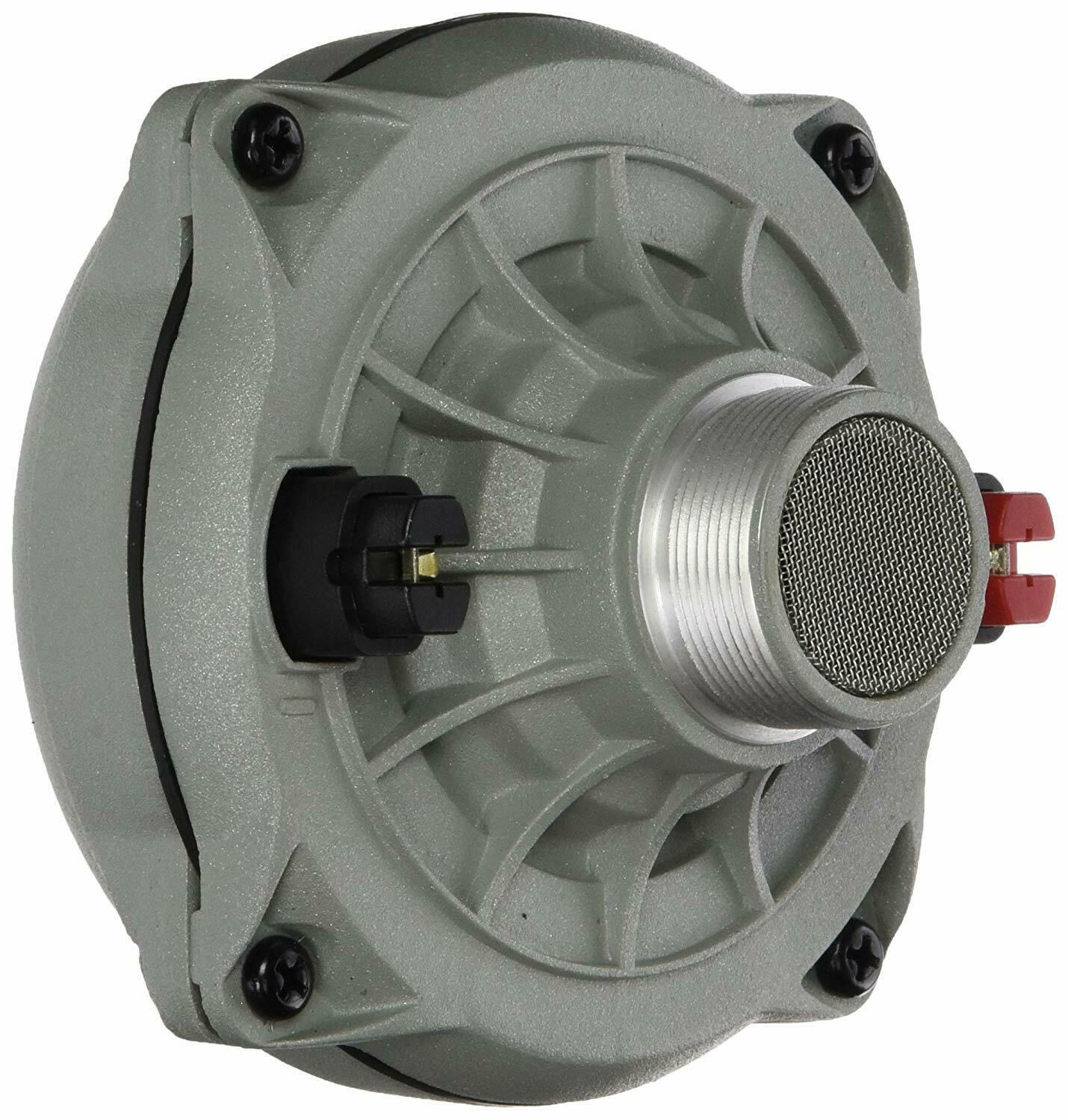 Pyle PDS432 High Power Car Audio Tweeter Compression Horn Driver, 500 Watts
