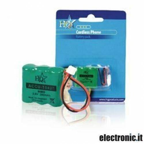 Ricaricabili NiMH Pacco di Batterie 3.6 V 280 mAh 1-Blister