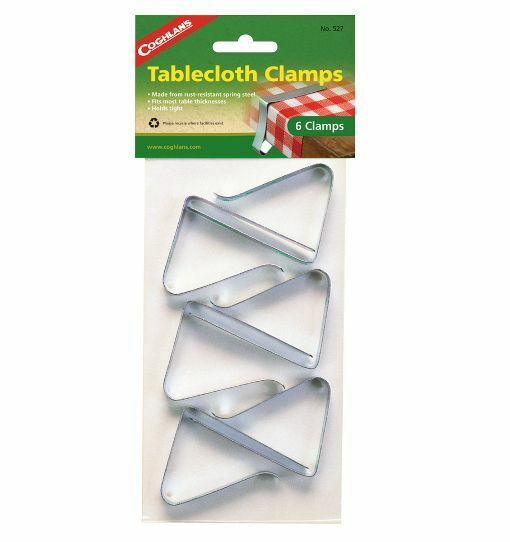 Set of 6 Steel Tablecloth Clamps for RVs / Campers  ***FREE SHIPPING***
