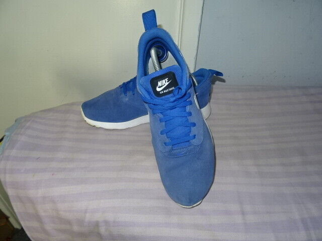 0377beee4f Mens Nike Air Max Tavas Ltr Royal Blue Suede Trainers 802611 401 UK 8.5 /  EUR 43 for sale online | eBay