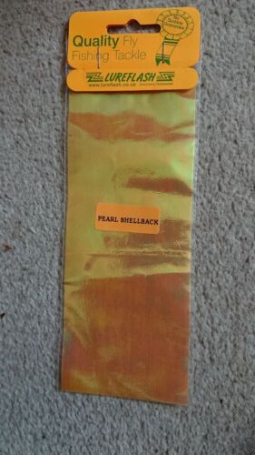 Lureflash Pearl Shellback jaune