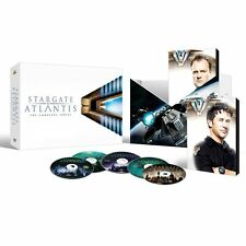 Stargate Atlantis Complete Series Season 1-5 DVD SET Collection TV Show Lot Box