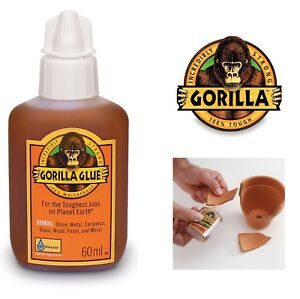 Gorilla Glue Tough Amp Waterproof Glue 60ml For Wood Stone