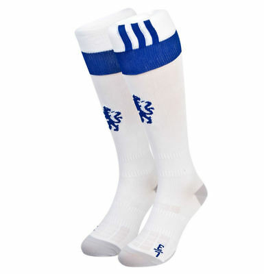 White 2015-2016 Chelsea Adidas Third Socks