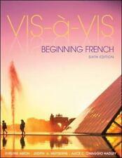 Vis-a-vis: Beginning French (Student Edition) by Amon, Evelyne, Muyskens, Judit