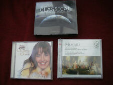 JOB LOT 3 Classical Music Albums 5 CDs SEE DETAILED PHOTOS inc VOICE OF AN ANGEL