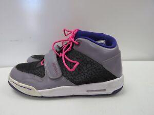 san francisco 5bc87 9d974 Details about Nike Air Jordan Flight Club Retro (618061-027)  Purple/Black/Gray SIZE 6.5Y F967K