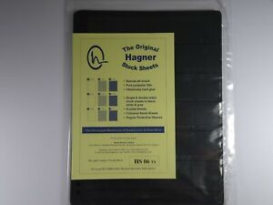 Hagner-Stock-Sheets-Single-Sided-6-Strip-Packet-of-10-Pages