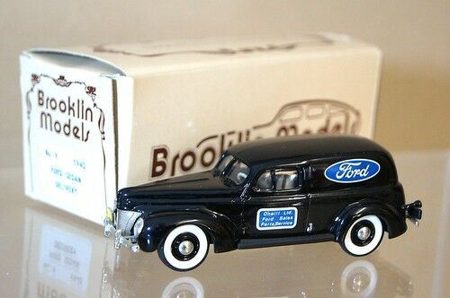 Brooklin modelos 9 1940 Ford Delivery Van Ford O'niel Ltd Menta en caja Mq