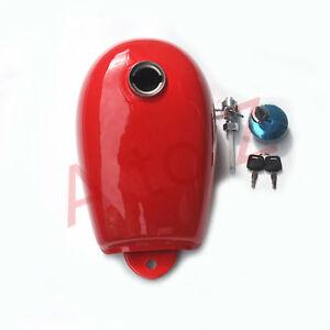 Fuel-Gas-Tank-Cap-Petcock-for-Honda-Mini-Trail-Z50-Z50A-Z50J-Z50R-Red-color