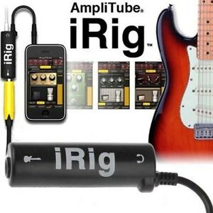 1x-Guitar-Interface-IRig-Converter-Replacement-Guitar-for-Phone-New