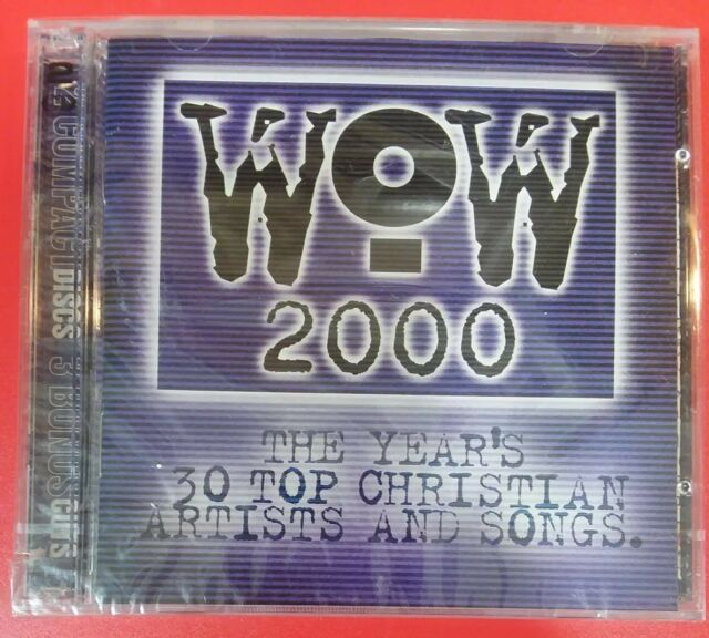 """WOW 2000 [Enhanced] by VARIOUS ARTISTS (2 CDs, USA - Sparrow) BRAND NEW """"SEALED"""""""