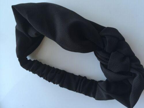 Women Girl 70/' 80/' Retro Braided Party bow bowknot boho Headband Hair band Wrap