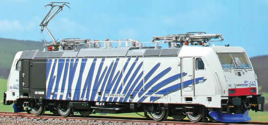 ACME 60406 TRAXX 186 442  Zebra  blu ++ Limited Edition
