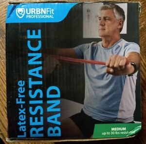 URBNFit Professional Resistance Bands - 25 Yards Extra Light .35mm Teal GallyHo