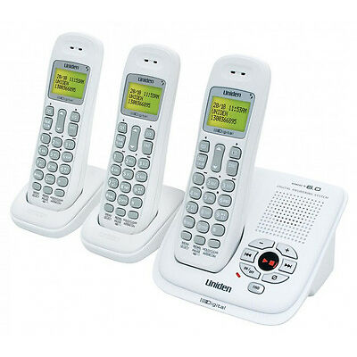 NEW Uniden - DECT 1035+2 - DECT Cordless Phone System from Bing Lee