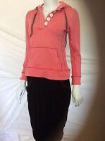 Boden Washed Vintage Hoody Uk Size 8 Brand Pink